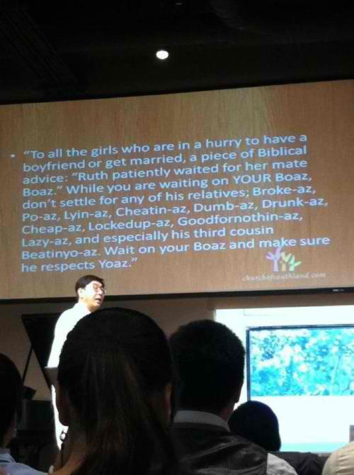 Biblical advice for those rushing in relationships