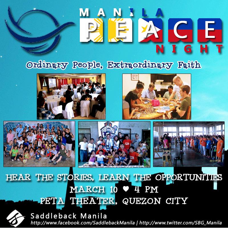 Saddleback Manila Past Gathering Recap + Announcement