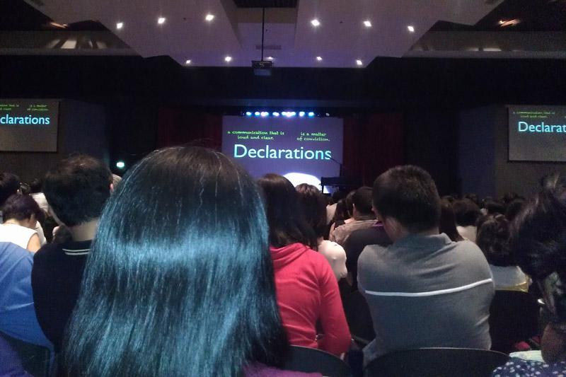 Declarations: Make or Break