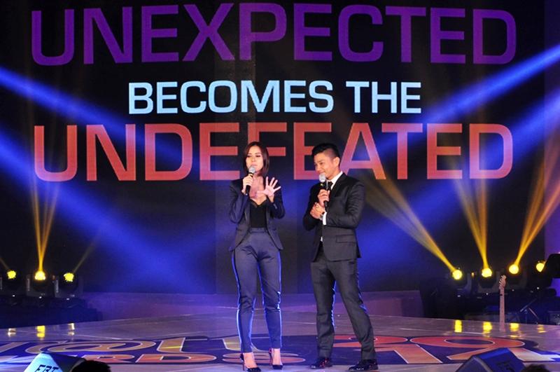 Tatt Awards 2014 Hosts Bianca Gonzalez and Drew Arellano