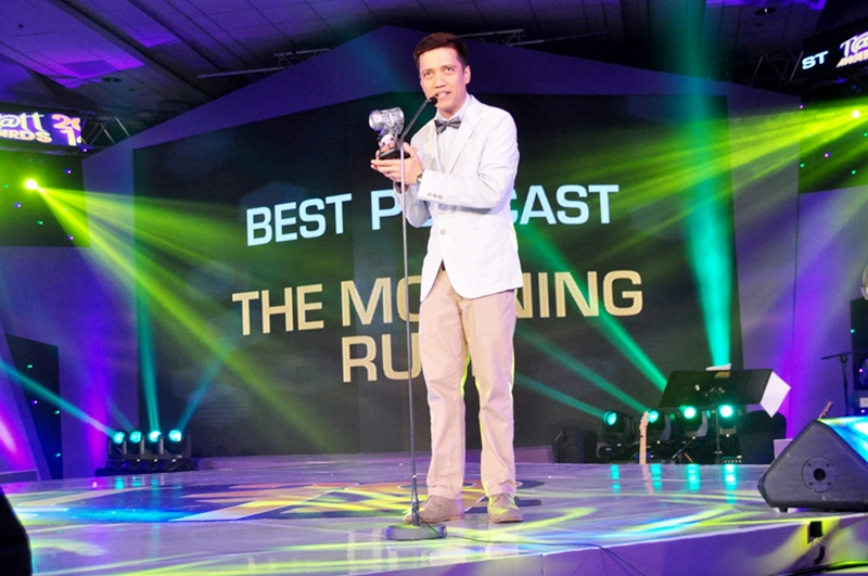 """Chico Garcia of """"The Morning Rush"""" for Best Podcast"""