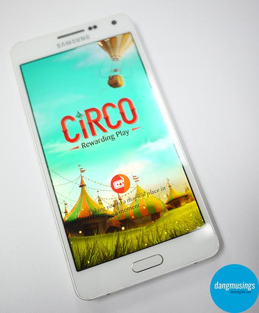 Samsung Circo Loading Screen