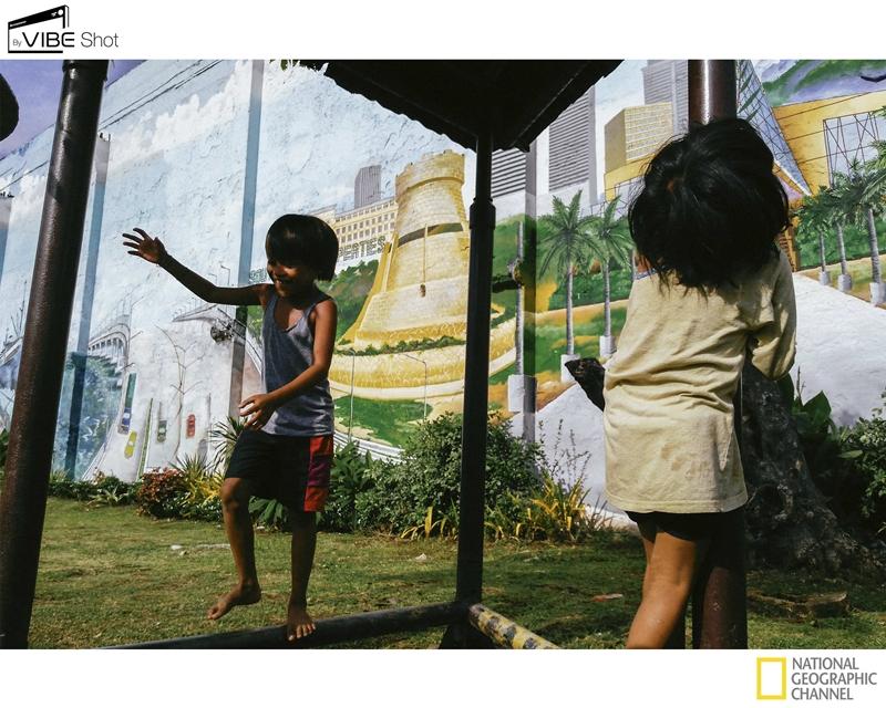 Children at Play Cebu Photo by Hannah Reyes taken with the Lenovo VIBE Shot