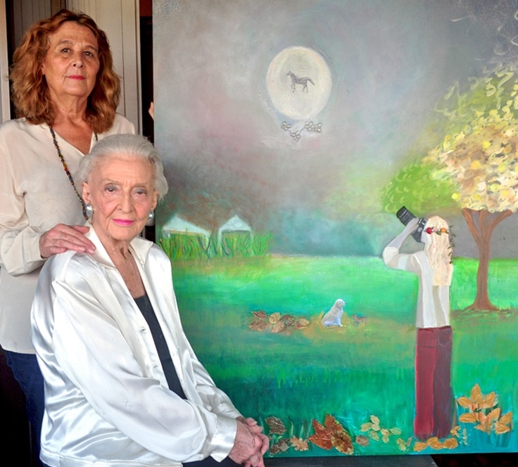 Carmen Brias with mother, Betsy Westendorp