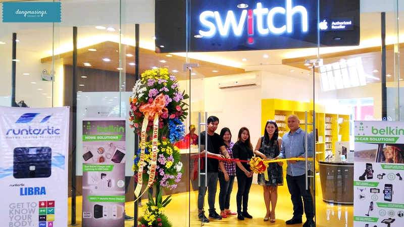 Switch team with Microsoft's Yvette dela Paz and Richard Javier