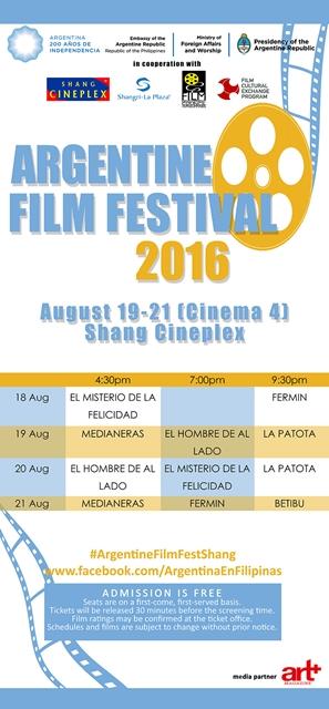 2ndArgentineFilmFest-Shang-Schedule