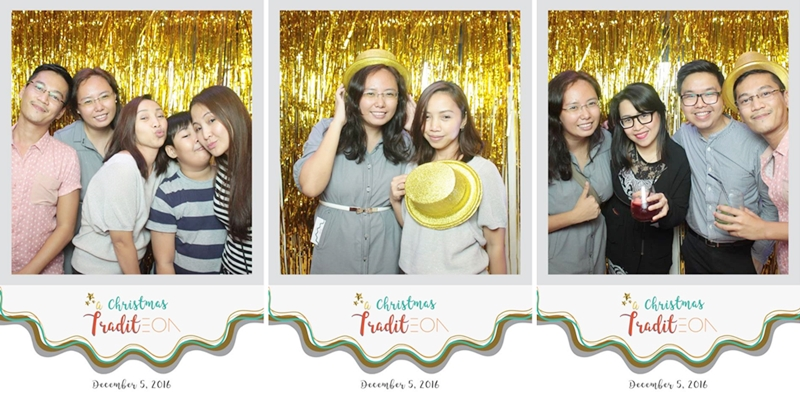We got photo booth crazy at Christmas TraditEON! :)