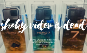GoPro HERO7 Action Cameras and Accessories Lineup