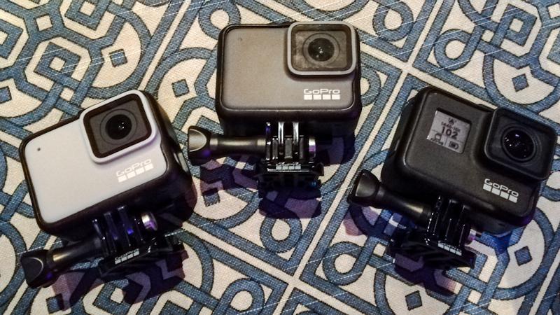 GoPro HERO7 White, HERO7 Silver, HERO7 Black
