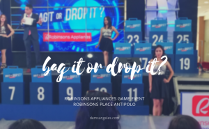 """Everyone Goes Home A Winner with Robinsons Appliances' """"Bag It or Drop It"""""""