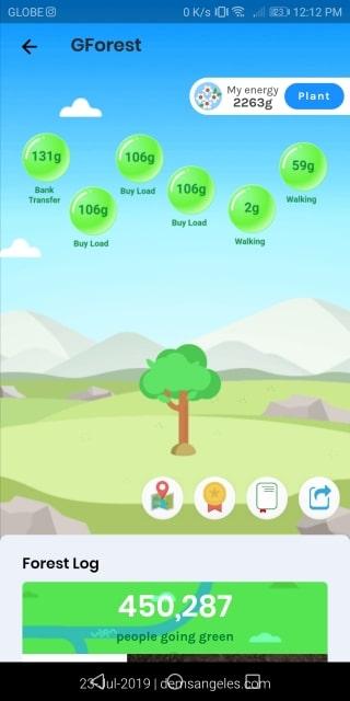 GCash Forest Points