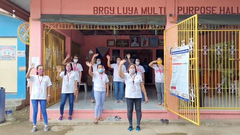 Sun Life Rise Brighter PH - Barangay Health Station in Luya, San Luis, Batangas