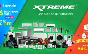 Enjoy up to 56% off on XTREME Appliances this 6.6 Mid-Year Sale