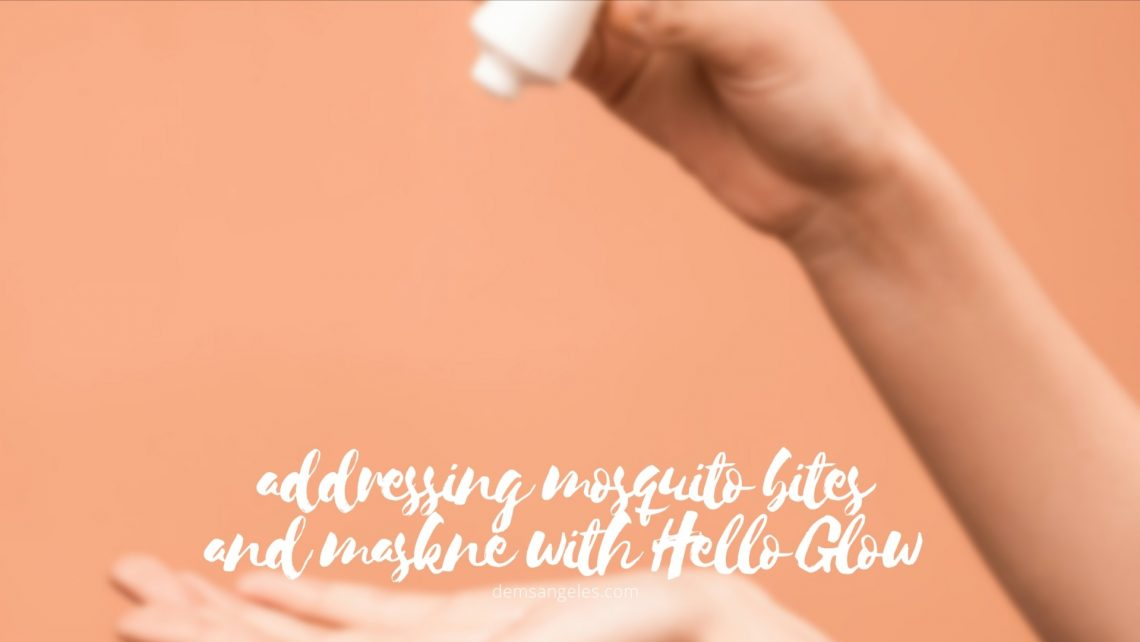 Addressing mosquito bites and maskne with Hello Glow